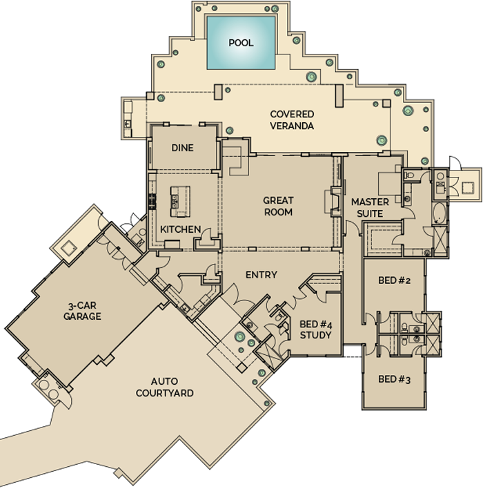 azure_floorplan_desert_mountain1 arrowhead 73 desert mountain soft contemporary homes arrowhead alarms wiring diagram at bakdesigns.co